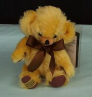 Merrythought  Squeaky Cheeky Teddy Bear Mohair Toy 186/500 England