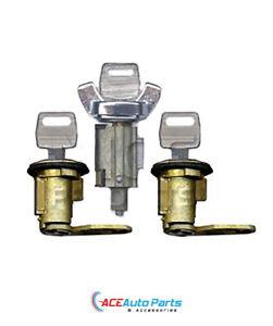Ignition Barrel + Door Locks For Ford F100 F250 1975-1987 New Set + Keys