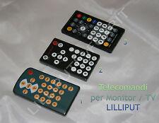 TELECOMANDI PER MONITOR/TV LILLIPUT