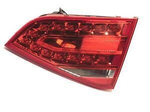 2010-2012 AUDI A4 S4 SEDAN PASSENGER INNER Tail Light 10-12 LED Trunk Taillight