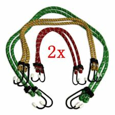 6 NEW BUNGEE STRAPS CORDS SET WITH HOOKS ELASTICATED ROPE CORD