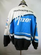 F3581 CHASE Pfizer' Spell-Out Mark Martin Driver Snap NASCAR Racing Jacket 2XL