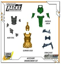 Boss Fight Vitruvian HACKS - GI Joe Junkyard Exclusive Accessory Enhancement Set