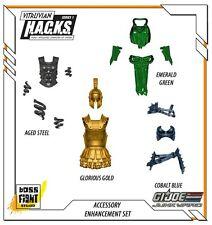 Boss Fight Vitruvian HACKS - GI Joe Junkyard Exclusive Accessory Enhancement Set