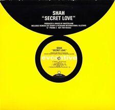"SHAH secret love EVOKE 5 DJ2 promo evocative 12"" PS EX/EX"