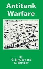NEW Antitank Warfare by G. Biryukov