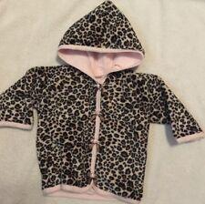 Too Sweet Sz 3Mo Leopard Print Soft Jacket Euc