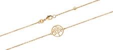 Bracelet Arbre de Vie Plaqué or 18 carats 750/1000 Bijoux Femme NEUF