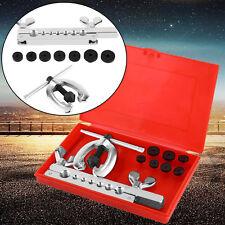 9-tlg Bördelgerät Bremsleitung Werkzeug Set Doppel Bördelwerkzeug f. Kfz Bördeln
