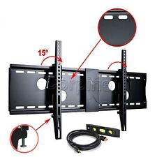 "Tilt Arm TV Wall Mount for 40"" 42 43 46 47 48 50 55 60 65 70"" LED LCD Plasma MBQ"