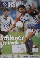 Programm 1999/00 HSV Hamburger SV - VfL Wolfsburg