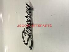 1974 thru 1976 Corvette Stingray Side Emblem NEW Reproduction GM 3945316
