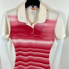Puma Dry Cell SportLifestyle Women's S/S Tennis Golf Athletic Shirt Sz Large