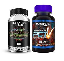 Blackstone Labs PCT V & ERADICATE STACK! PCT 5 -Makers of Dust Extreme-FREE SHIP