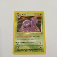 Muk - Fossil Set - Non-Holo - 28/62 - Rare - Pokemon Card - Vintage - WOTC