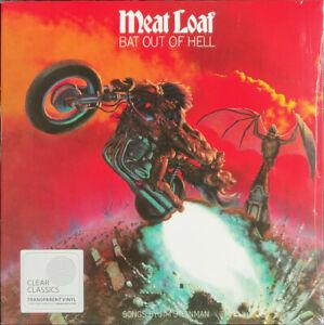 Meat Loaf - Bat Out Of Hell - Transparent Vinyl LP & Download *NEW & SEALED*