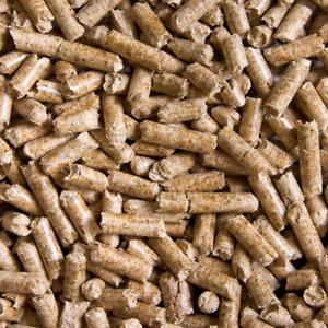 Holzpellets Kleintierstreu 7,5kg Einstreu Katzenstreu Holzunterlage für Tiere
