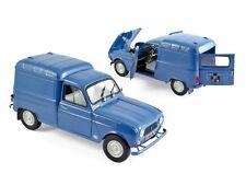 NOREV 1:18 AUTO DIE CAST RENAULT 4 FOURGONNETTE 1965 BLUE  ART 185188