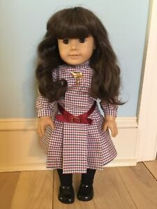 Pleasant Company American Girl Samantha Doll in Original Outfit - EUC