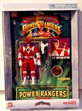 Saban's Power Rangers Legacy Collection Auto Morphin Red Ranger Jason New MISB