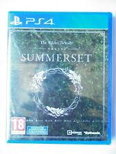 The Elder Scrolls online Summerset Jeu Vidéo PS4 Playstation 4