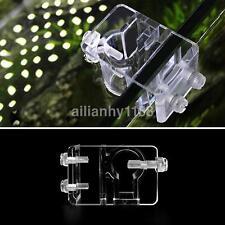 Acrylic Aquarium Tank Water Pipe Hose Tube Rod Fixing Clip Holder 20mm Dia US
