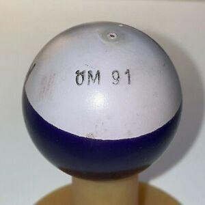 Minigolfball mg ÖM 91 KL - markiert, wenig Gebrauchsspuren