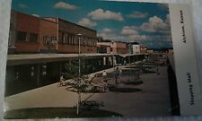 Vintage Postcard Shopping Mall Commercial street, Atchison, Kansas