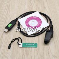 For Kenwood Radio USB Programming Cable Cord  TK-280 TK-380 +Software&SN
