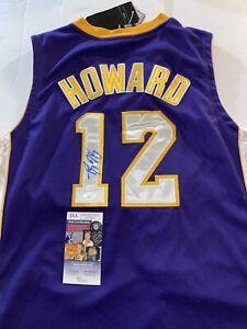 DWIGHT HOWARD Los Angeles Lakers Signed Jersey  JSA