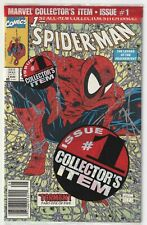 SPIDER-MAN #1 (1990) NM POLY-BAGGED GREEN UPC NEWSSTAND LOGO MCFARLANE COV/ART ~