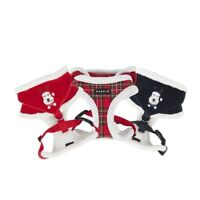 PUPPIA CHRISTMAS WINTER RUDOLPH DELUXE DOG PUPPY HARNESS WITH HOOD, RED OR CHECK