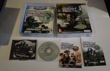 ghost recon tom clancy's collector's pack jeu pc bigbox big box