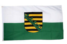 Saxony Flag Large 5 x 3 FT - Germany Province Federal State German