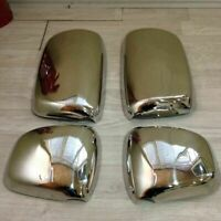 DAF XF 105 CHROME MIRROR COVER  4 pcs NEW MODEL ''STAINLESS STEEL''