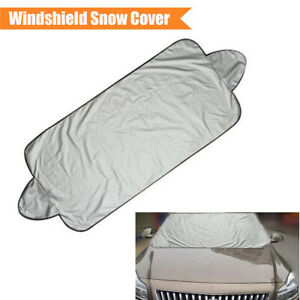 1x Vehicle Car Windshield Snow Ice Frost Cover Protector Waterproof For Winter