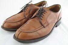 Allen Edmonds Bradley 5-Eyelet Derby Dress Shoes Size 9D In Reddish Brown / Tan