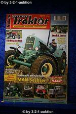 Oldtimer Traktor 1/14 MAN-Sechszylinder Lindner BF 22 A Fendt Farmer 2D U45 U900