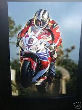 Haute Qualité A3 Poster Print-Michael Dunlop-Isle of man tt courses [ a3-01 ]