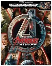 Avengers Age Of Ultron Collectible Steelbook 4K Ultra HD Blu Ray - VG