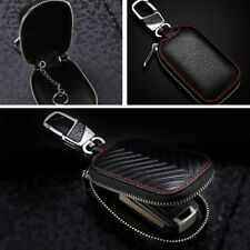 Genuine Leather Auto Key Cover Holder Key Fob Case Bag Universal For Cars