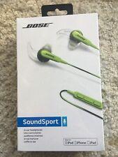 New, Bose SoundSport In-Ear Headphones for iOS, iPhone, iPod, iPad