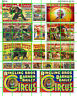 3014 DAVE'S DECALS ASST'D RINGLING BROS BARNUM BAILEY ADVERTISING SIGN SET