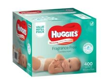 Huggies Wipes Fragrance Free 400 Pack