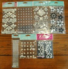 Jolee's GEMSTONES 1 Boutique Stickers 7 PACKAGES AS LISTED BELOW