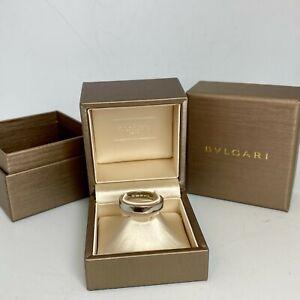 """Bvlgari """"MarryMe"""" Men's Platinum Wedding Ring Size 10.75/63.3"""