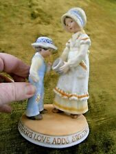 Holly Hobbie Figurine Mothers Sweet Love 1980