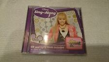 """CD- and Lyric Book included Hannah Montana """"SING ALENG"""""""