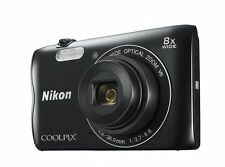 Nikon Coolpix A300 20.1MP Digitalkamera-Schwarz