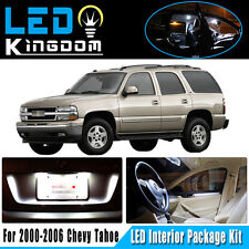 17 PCS 00-06 For Chevy Tahoe Car Interior LED Light Package Kit Deal Xenon White